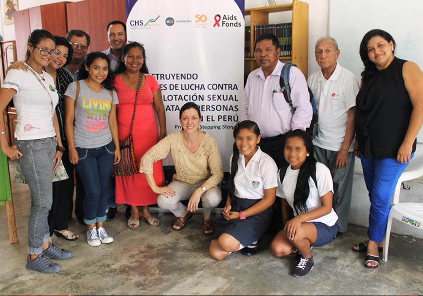 Construyendo puentes de lucha contra la explotación sexual comercial y la trata de menores en Perú