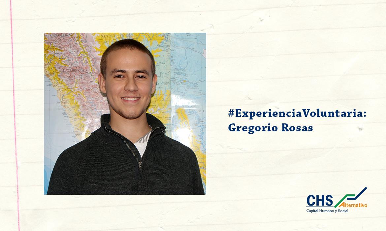 #ExperienciaVoluntaria: Gregorio Rosas