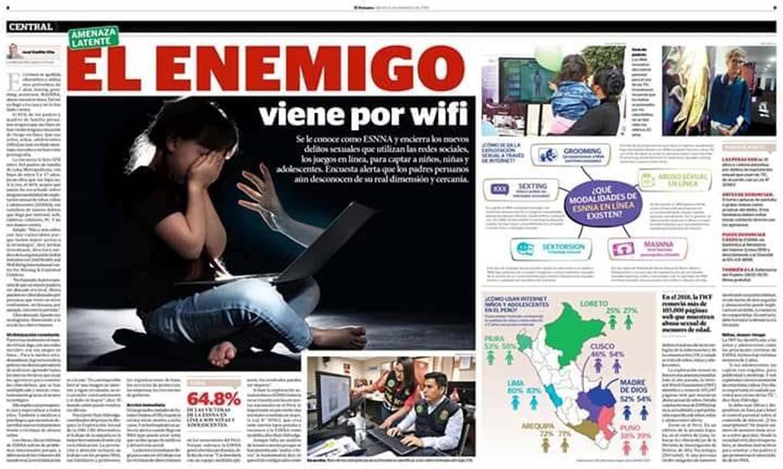 El enemigo viene por wifi