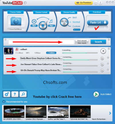 Youtube by click activation Code