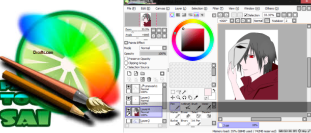 download paint tool sai crackeado 2018