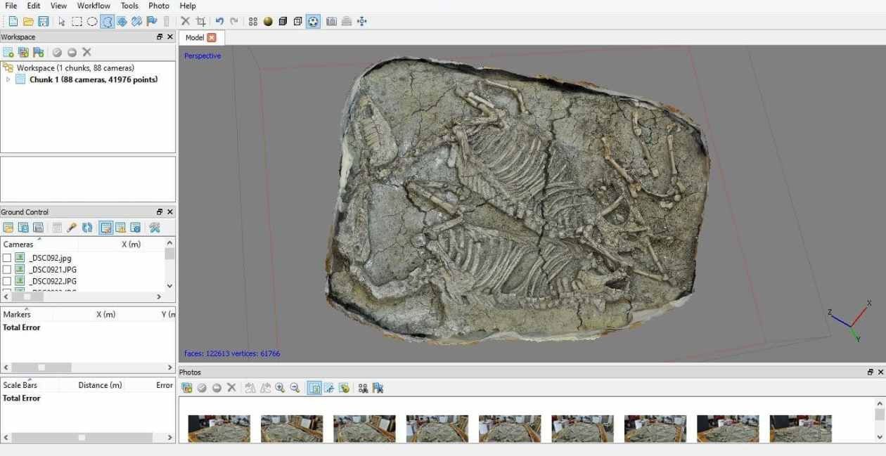 3D photomodeling Photoscan for art and archaeology