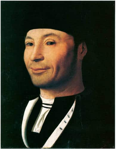 Antonello Portrait of a Man