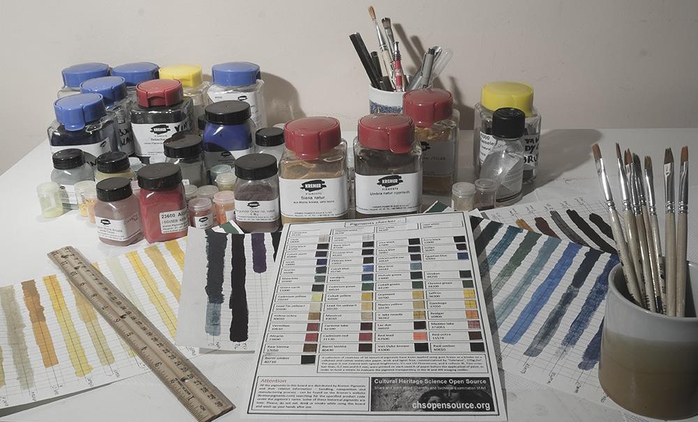 pigments checker making