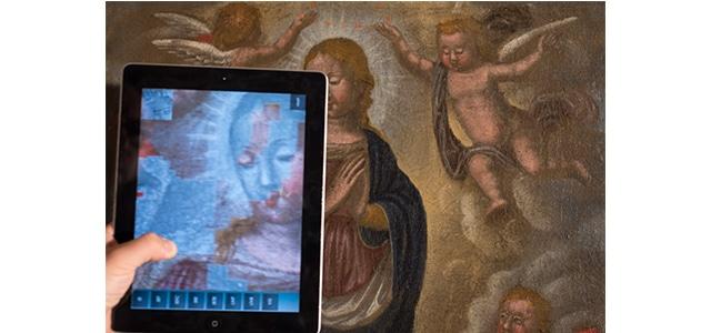 giovanni landi multispectral imaging app