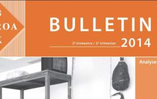 Belgian Association of conservators Bulletin