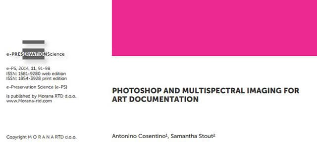 phtoshop for conservation