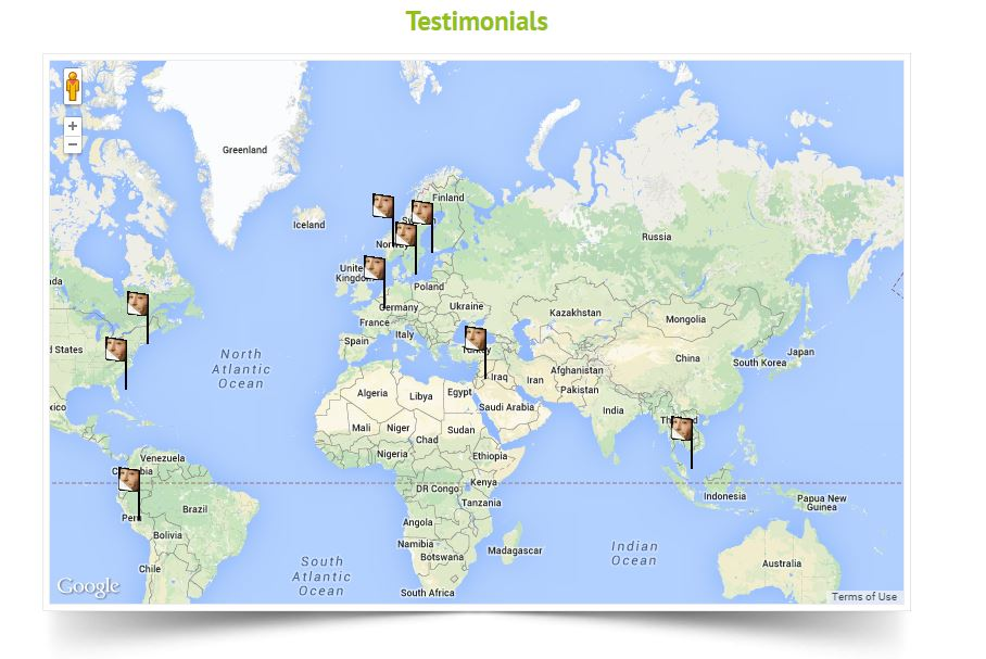 Testimonials World Map Cultural Heritage Science Open Source