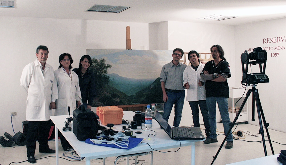 training multispectral imaging ecuador