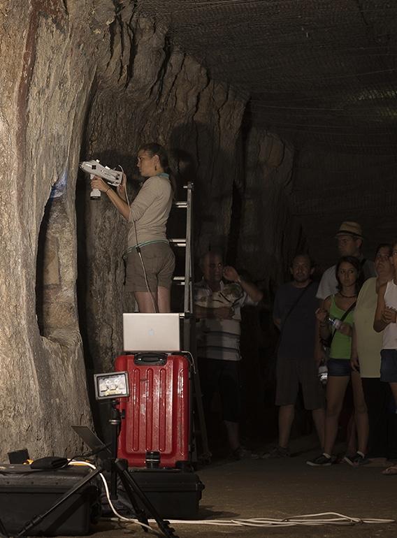 Roman wall paintings Syracuse