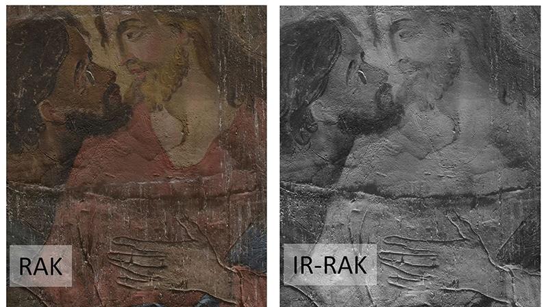 raking light mural paintings