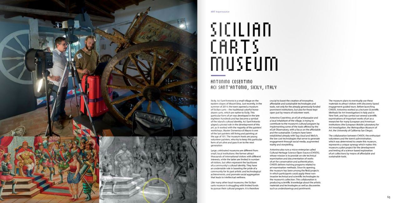 eCult Interactive eBook Sicilian Carts Museum