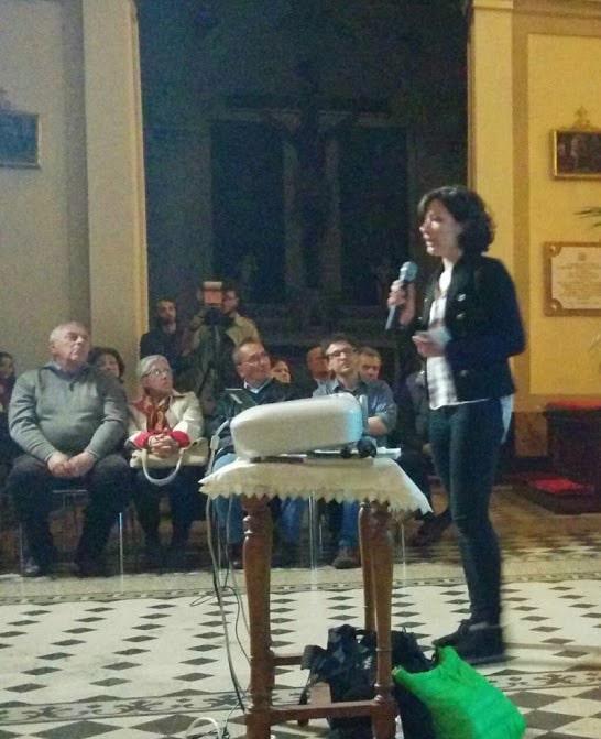 Conference April 26th, Aci Sant'Antonio. Camilla Perondi