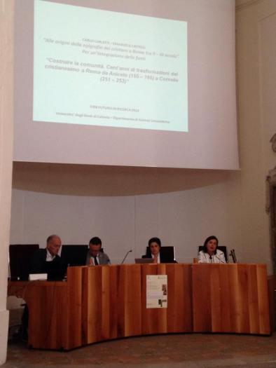 epigrafia cristiana in Siracusa. Conferenza Catania