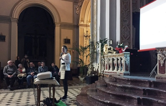 Conference April 26th, Aci Sant'Antonio. Samantha Stout