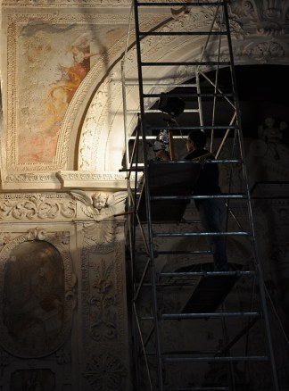 Chiesa di San Michele, Savoca. Technical Photographic Documentation of its wall paintings.