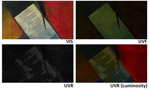 Practical notes on ultraviolet technical photography for art examination 09