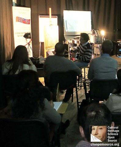 Heritage Malta CHSOS Art Diagnostics Training 2016 3