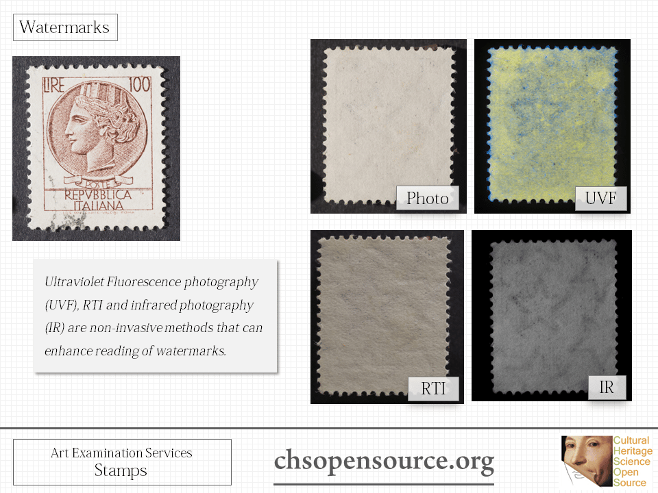 Technical examination services for stamps Slide6