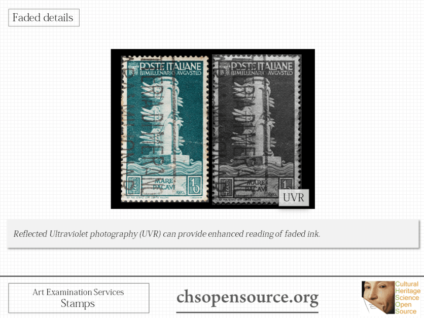 Technical examination services for stamps Slide9
