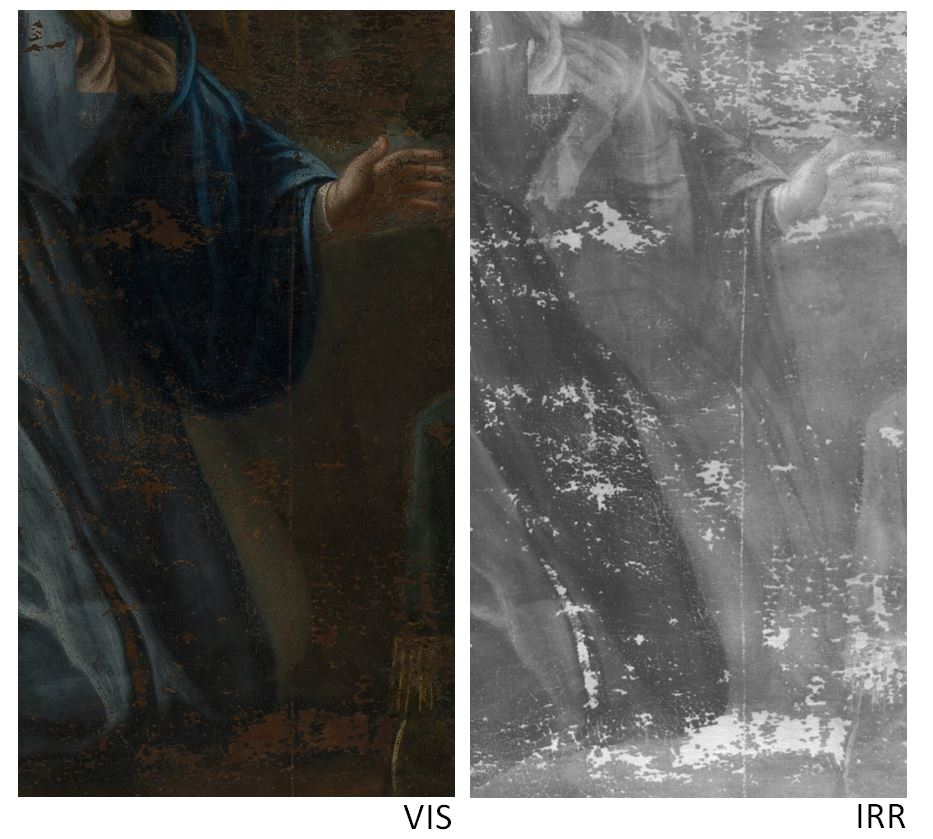 Techniques to reveal hidden paintings: X-Radiography, infrared photography and infrared reflectography