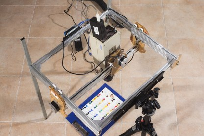 scanner for art diagnostics Archimedes