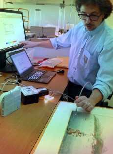 reflectance spectroscopy for paper conservation, National Archives The Netherlands