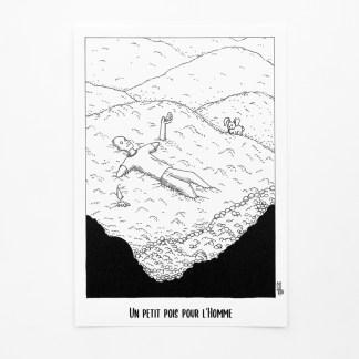 Print - Un petit pois pour l'homme [opulence]