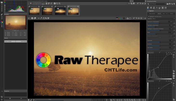 RawTherapee 教學