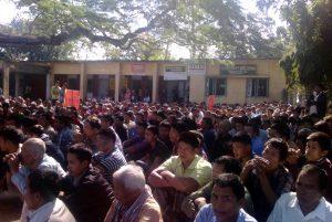 Naniachar protest