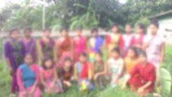 # নব গঠিত 'নারী আত্মরক্ষা কমিটির' সদস্যরা, কদুকছড়ি থেকে তোলা, ১৫ জুন ২০১৬
