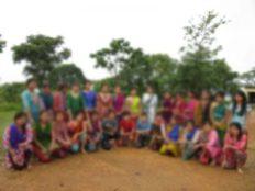 # প্রশিক্ষণার্থীদের দল, ১২ জুন ২০১৬, মৌনপাড়া প্রাইমারি স্কুল প্রাঙ্গন, ঘাঘড়া