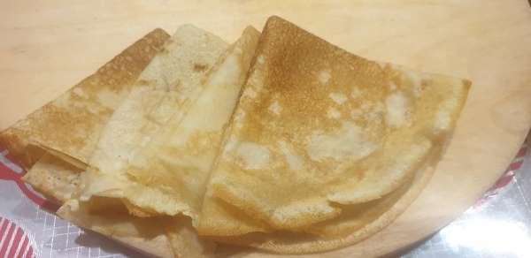 Resepti ohut huokoiset pannukakkuja