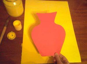 Ашықхатқа арналған түсті ваза