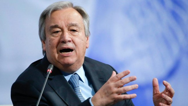 """""""غوتيريس"""" يشدد على أهمية التفاوض بطريقة دبلوماسية.. و حقوق الإنسان حاضرة في تقريره المرفوع  إلى مجلس الأمن الدولي حول قضية الصحراء"""