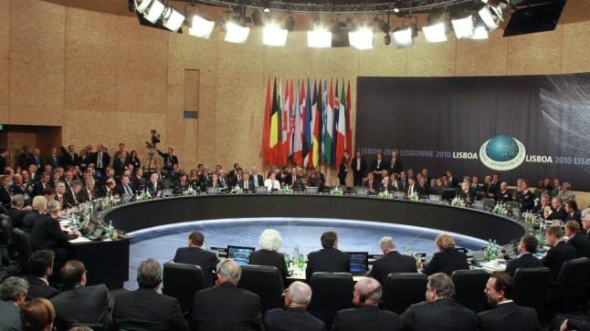 """بروكسل: انطلاق اجتماع وزراء خارجية """"الناتو"""""""