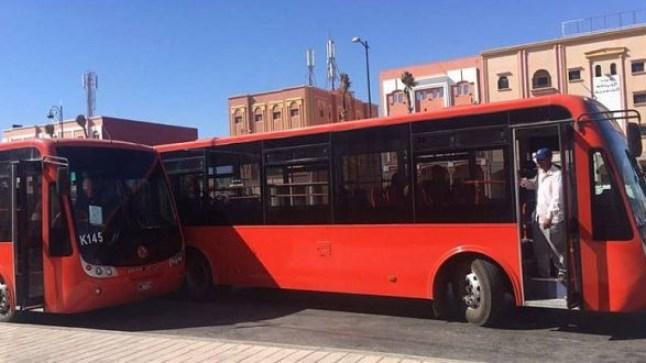 """""""الكويرات"""" يتسببون في فسخ عقد حافلات الكرامة للنقل الحضري بمدينة العيون"""