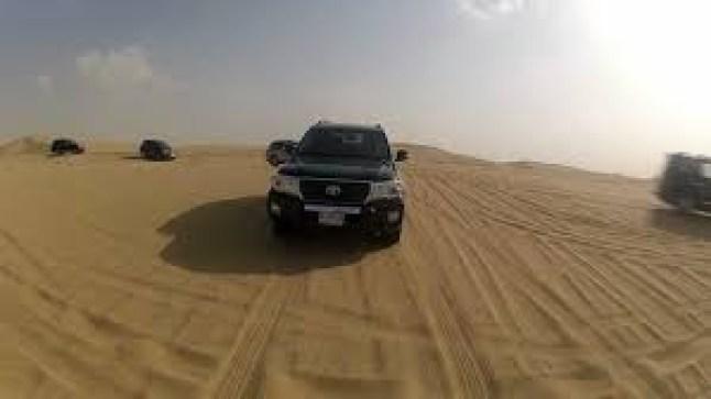 الدرك يعثر على سعودي وباكستاني كانا قد ظلّا طريقهما بالصحراء..