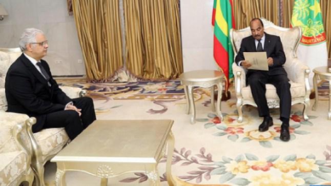 بتكليف من الملك.. نزار بركة يسلم رسالة خطية إلى الرئيس الموريتاني!