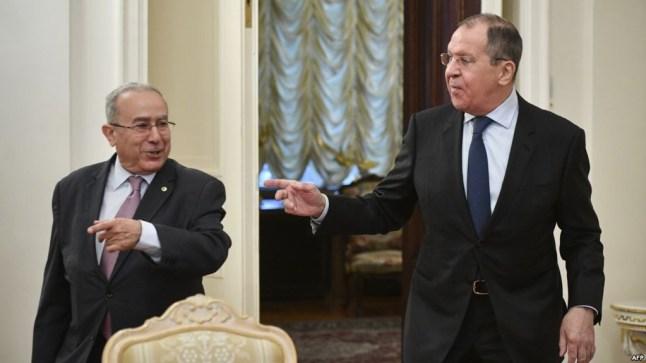 لقاء وزيري خارجية الجزائر وروسيا.. وإثارة قضية الصحراء قبيل عقد محادثات جنيف..