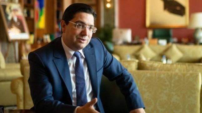 بوريطة: المغرب يريد حلا واقعيا لقضية الصحراء وهو غير مستعد للتعامل مع مواقف تتعارض مع قرارات مجلس الأمن الدولي..