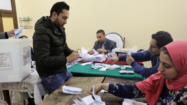 هيئة الانتخابات الوطنية المصرية تعلن عن تأييد التعديلات الدستورية لصالح السيسي!