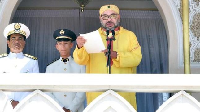 الملك محمد السادس يلقي خطابا بمناسبة الذكرى الثالثة والستين لتأسيس القوات المسلحة الملكية..