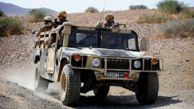 الجيش المغربي يطلق النار على مهربي مخدرات بالداخلة!