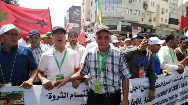 إجتياح الرعاة الرحل.. يخرج فعاليات أمازيغية للتظاهر بأكادير
