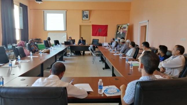 المديرية الإقليمية لوزارة التربية الوطنية ببوجدور تنظم لقاءا تواصليا مع فعاليات المجتمع المدني ووسائل الإعلام بالإقليم..