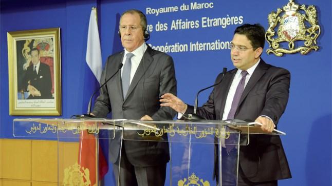 لافروف وبوريطة في مباحثات هاتفية حول تعزيز العلاقات الثنائية بين روسيا والمغرب