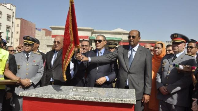 رئيس جهة العيون الساقية الحمراء يعطي الإنطلاقة لعدد من المشاريع التنموية بمدينة العيون