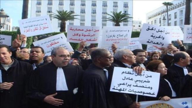 """رفضا لـ """"المادة 9"""" من قانون المالية.. محامو المغرب يحتجون يوم الأربعاء 20 نونبر أمام البرلمان"""