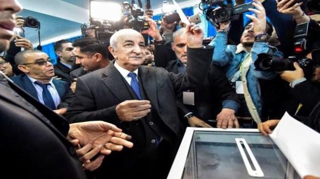 عبدالمجيد تبون رئيسًا للجزائر من الدور الأول للانتخابات